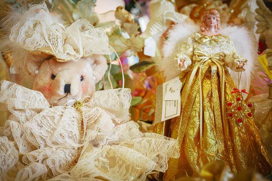 Teddy Bear and Angel