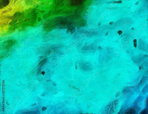Detailed Close Up Grunge Abstract Background Dry Brush