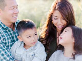 Family Portrait in a Field