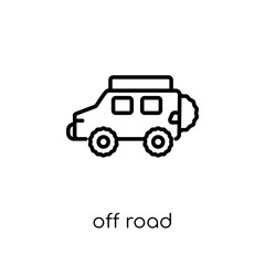Off road icon from Transportation collection.