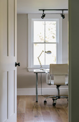 Office in Contemporary Home