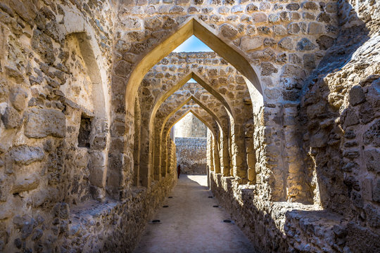 The Qal'at al-Bahrain, also known as the Bahrain Fort or Portuguese Fort, is an archaeological site located in Bahrain, on the Arabian Peninsula
