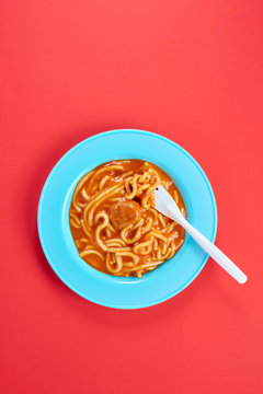Canned Spaghetti and Meatballs