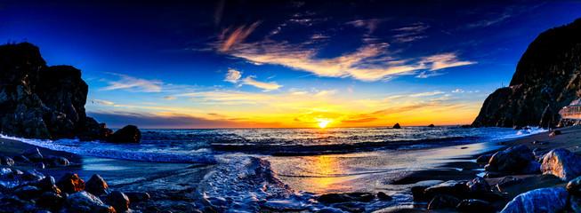 Last Light at Limekiln Beach, Big Sur, CA