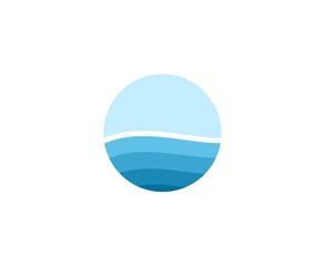 Sea wave logo