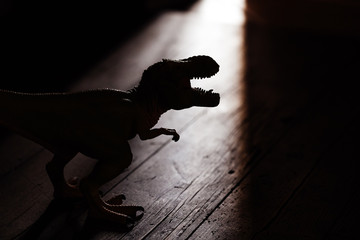 Dangerous dinosaur irrupted at home