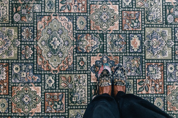 Shoes Matching Carpet
