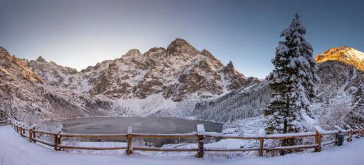 Fototapeta Tatra Mountain nature landscape of Morskie oko obraz