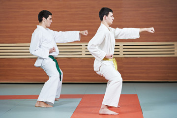 taekwondo exercises in gym