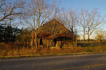 Abandoned store building - Ammonsville, TX