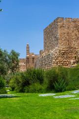 View on King David tower