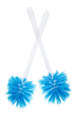 A pair toilet brush