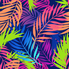 Türaufkleber Grafik Druck Abstract colorful gradient summer seamless pattern.