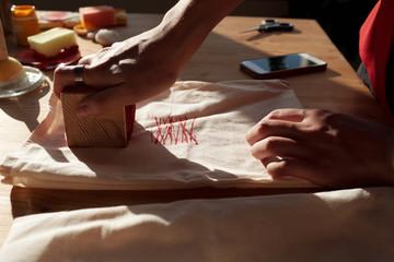 Designer printing gift bags