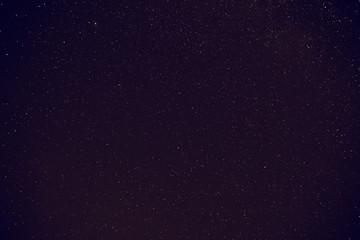 Milky Way stars photographed with wide lens and camera. My astronomy work.