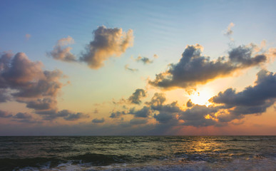 Sunrise photo set From the Gulf of Thailand.