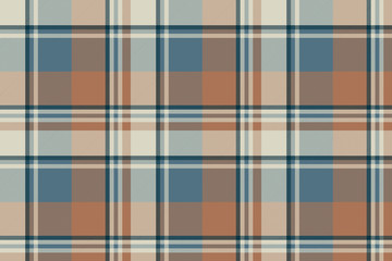Pastel color classic beige plaid seamless fabric texture