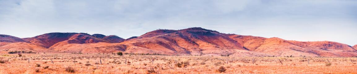 Mundi Mundi Ranges in Central Australia