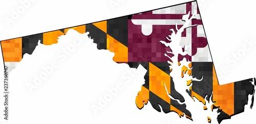 Grunge Maryland map with flag inside - Illustration, Map of ... on graffiti of maryland, layout of maryland, landscape of maryland, graph of maryland, icons of maryland, clipart of maryland, food of maryland, drawing of maryland, cartoon of maryland,