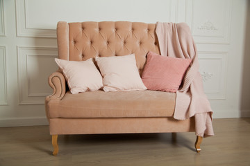 Peachy Peach Sofa Photos Royalty Free Images Graphics Vectors Pabps2019 Chair Design Images Pabps2019Com