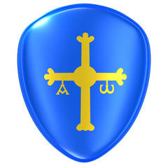 Asturias flag icon