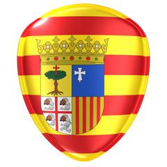 Aragon flag icon