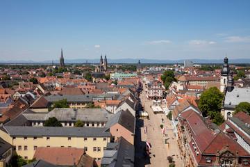 Germany, Rhineland-Palatinate, Speyer, cityview, Maximilianstrasse