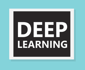 Deep learning concept- vector illustration