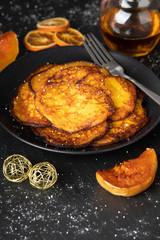 Leckere Kürbis-Pancakes