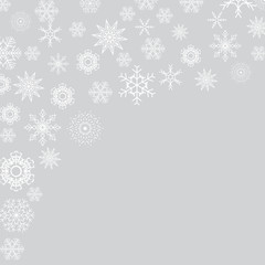 Abstract Holiday New Year and Merry Christmas Background. Vector Illustration