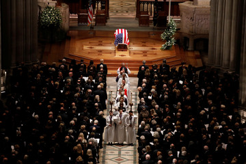 Funeral service for former President U.S. President George H.W. Bush in Washington