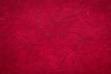 dark red  textured mulberry paper