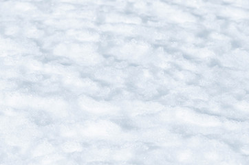 Fresh snow abstract texture background