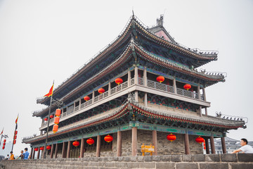 Foto op Aluminium Xian pagoda. China. architecture