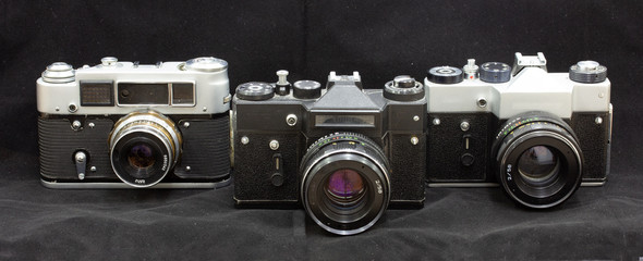Soviet analog cameras are ready to work