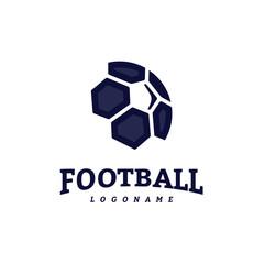 Soccer Football Badge Logo Design Templates. Sport Team Identity Vector Illustration