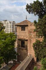 Fortress of Malaga, Andalusia.