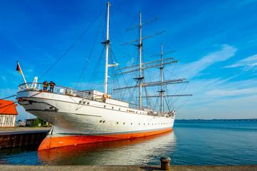 Stralsund Hafen Schulschiff Gorch Fock