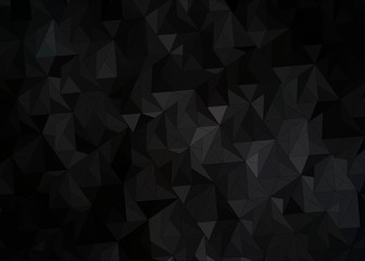 dark abstract gradient background with black and gray triangles