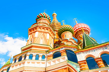 Wall Mural - St Basil's Cathedral in Moscow, Russia