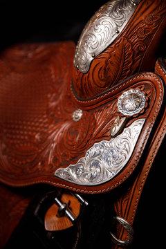 Western Saddle Detail