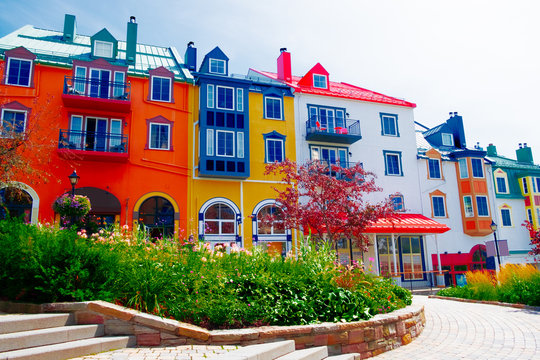 Colorful town, Canada