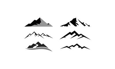 the mountain icon logo