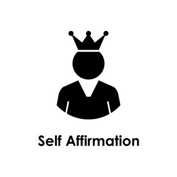 worker, crown, self affirmation icon. One of the business collection icons for websites, web design, mobile app