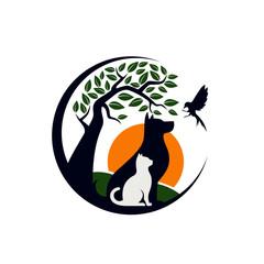 Creative Animal Pet Logo Template