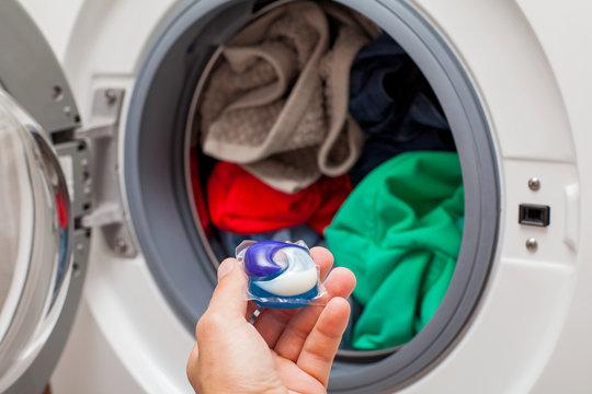 Laundry detergent pod