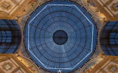 Natale in Galleria Vittorio Emanuele a Milano