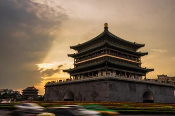 钟楼 Xi'an Fototapete
