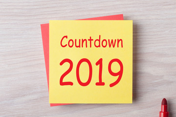 Countdown 2019 Concept