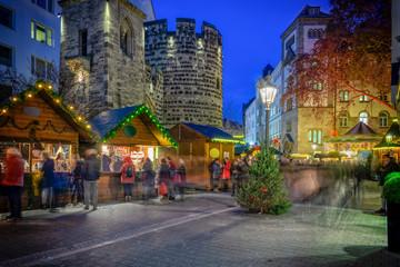Advent am Sterntor in Bonn